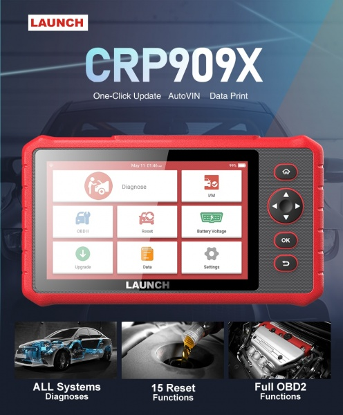 LAUNCH CRP909X Diagnostic and Service Tool