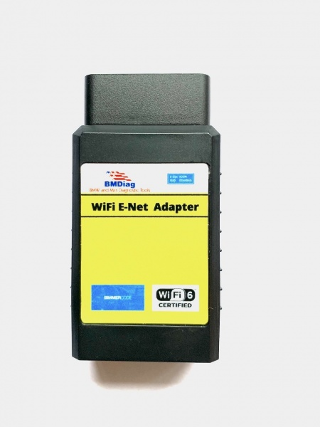 BMDiag WiFi ENET High Speed BMW Coding Adapter