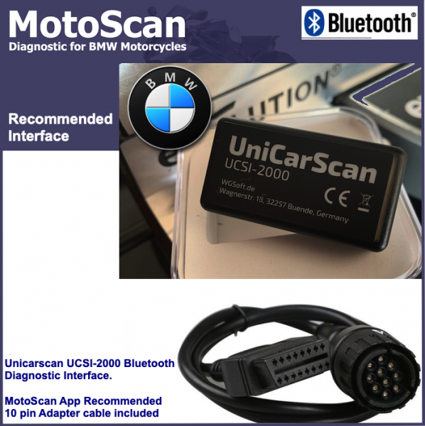 Motoscan BMW Motorcycle Diagnostic Kit